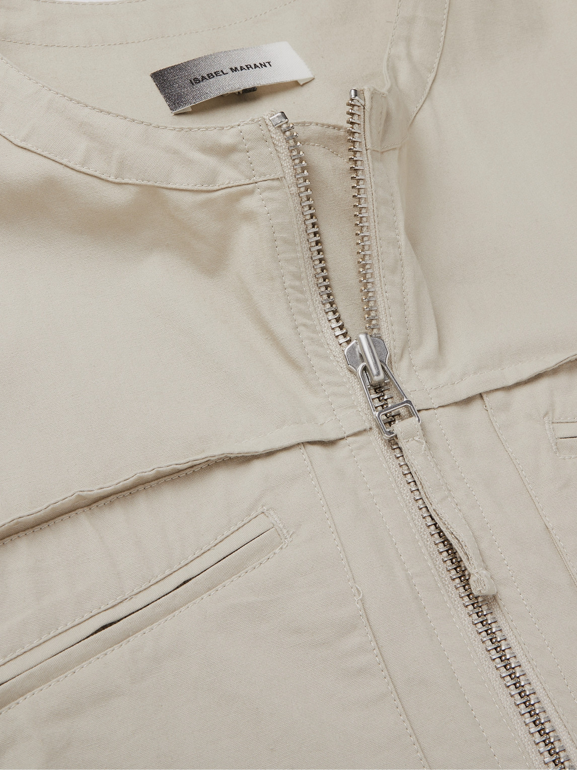 ISABEL MARANT Cottons TREVOR COTTON-TWILL JUMPSUIT