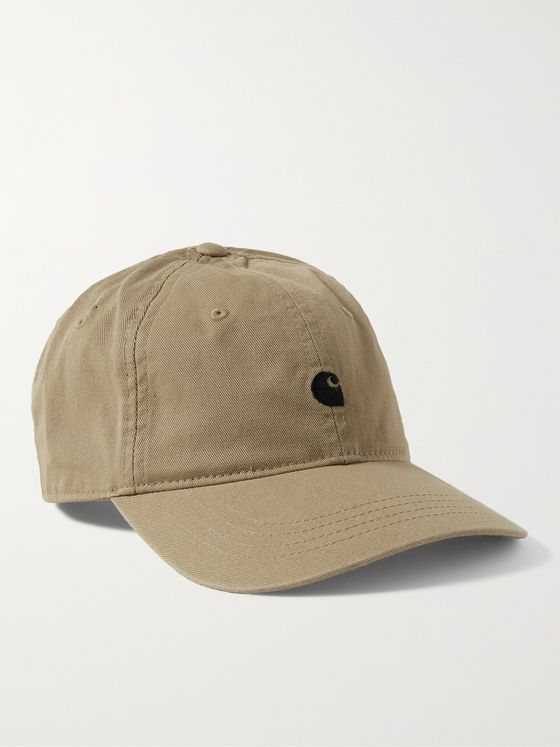 CARHARTT WIP Madison Logo-Embroidered Cotton-Twill Baseball Cap