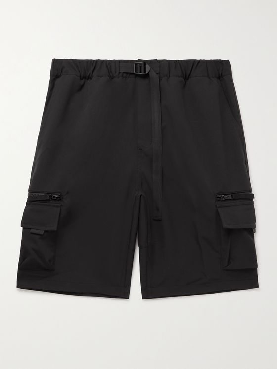 CARHARTT WIP Elmwood Belted Stretch-Shell Cargo Shorts