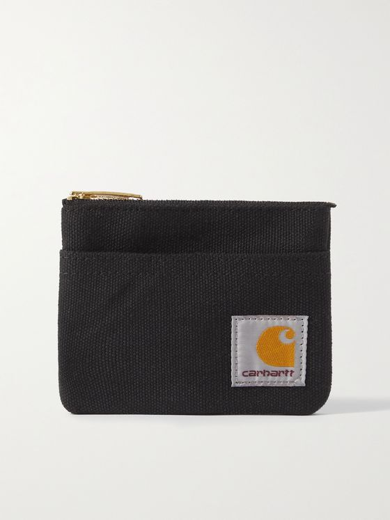 CARHARTT WIP Logo-Appliquéd Canvas Wallet