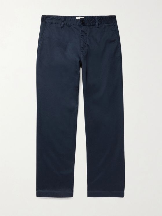 WOOD WOOD Stefan Organic Cotton-Twill Chinos