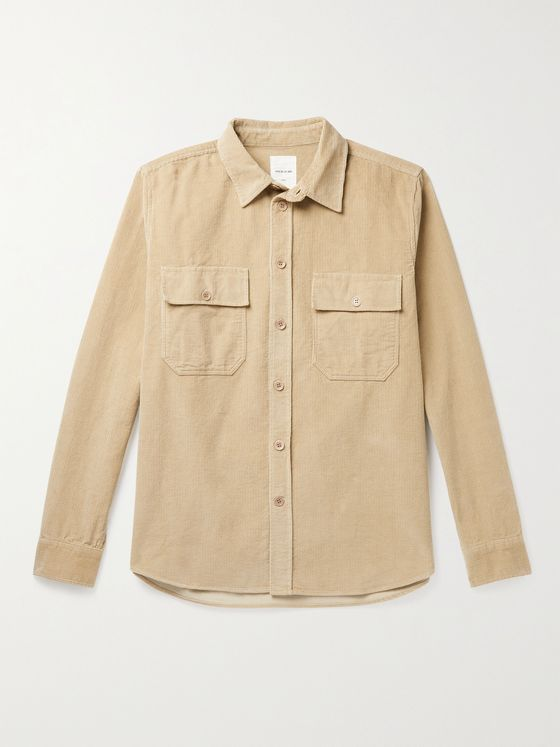 WOOD WOOD Andrew Cotton-Corduroy Shirt
