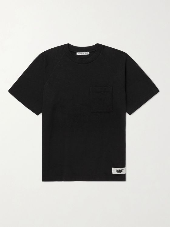ACNE STUDIOS Emeril Slub Cotton-Jersey T-Shirt