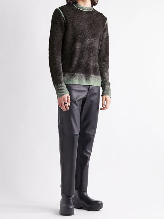 ACNE STUDIOS Mélange Wool and Cashmere-Blend Sweater