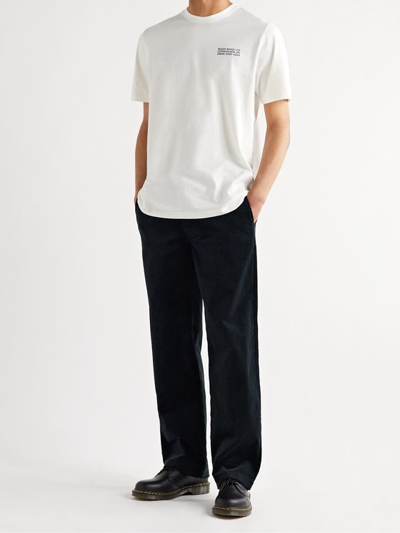 Wood Wood Stefan Cotton-Corduroy Trousers
