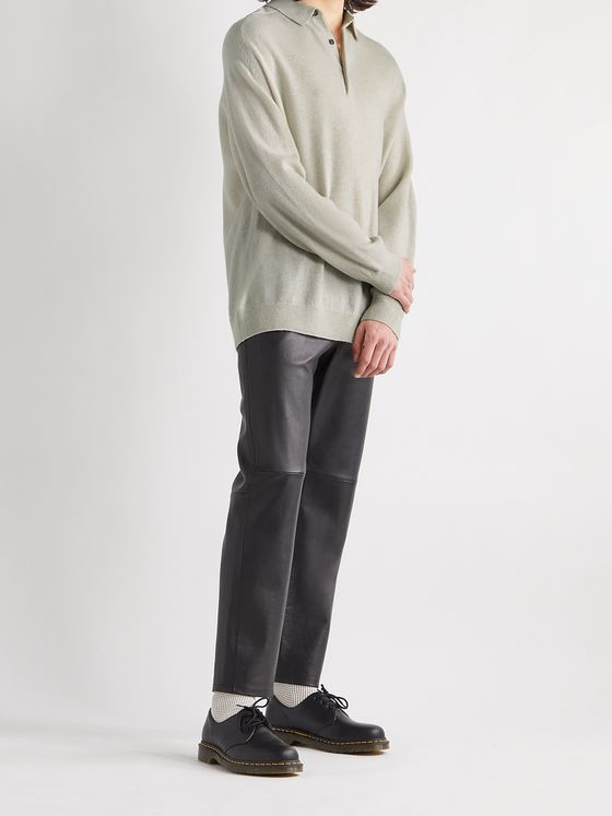 ACNE STUDIOS Kopa Wool Polo Shirt