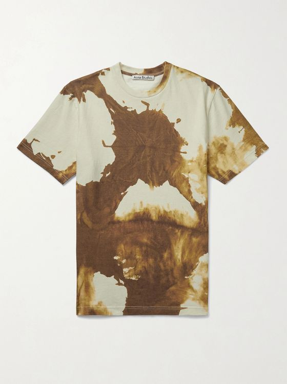 ACNE STUDIOS Everrick Tie-Dyed Cotton-Jersey T-Shirt