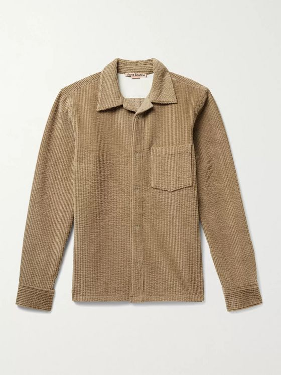 ACNE STUDIOS Denver Cotton-Blend Corduroy Overshirt