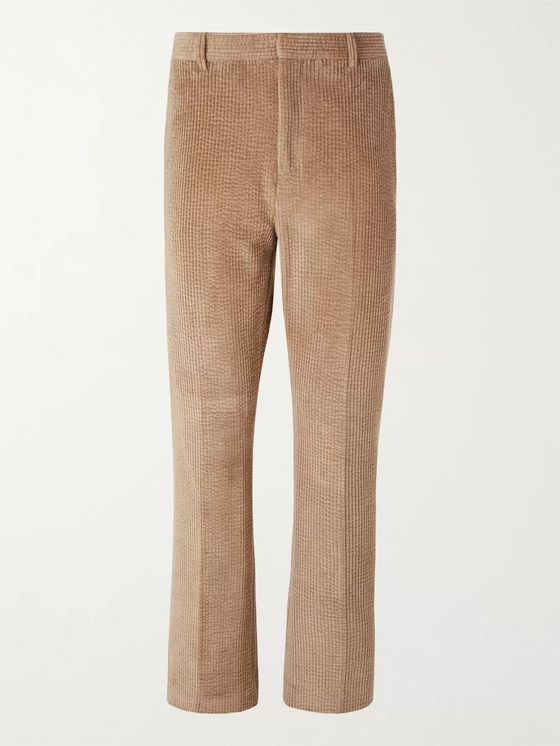 ACNE STUDIOS Jamido Cotton-Blend Corduroy Trousers