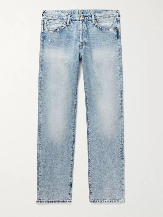 ACNE STUDIOS 1996 Distressed Denim Jeans