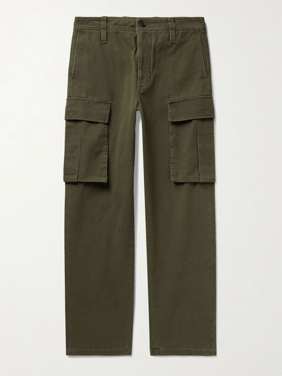 ACNE STUDIOS Pango Cotton-Canvas Cargo Trousers