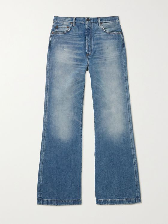ACNE STUDIOS Clement Rodeo Bootcut Denim Jeans