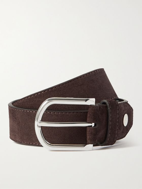 BRIONI 3cm Leather Belt