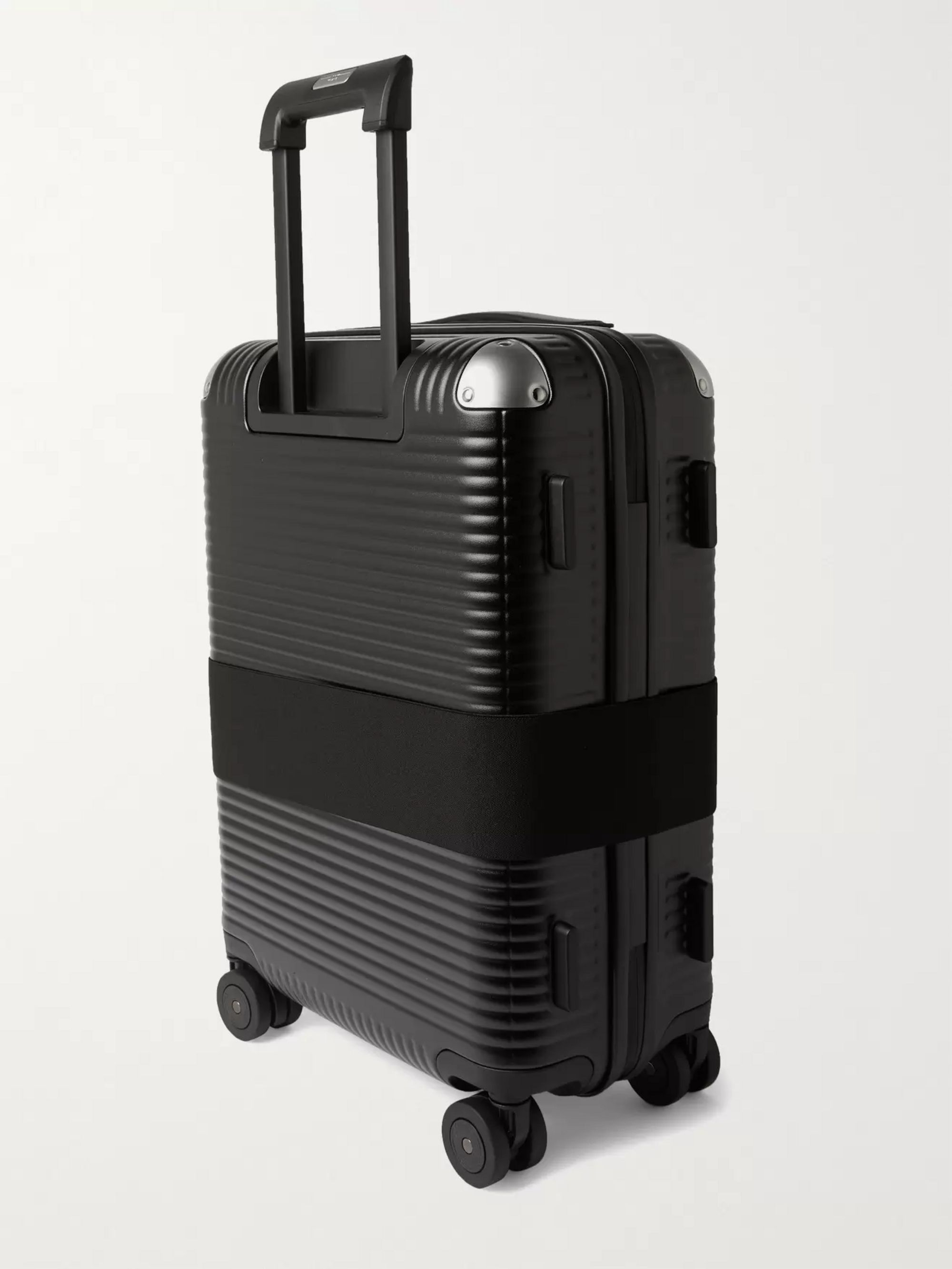 FPM MILANO Bank Spinner 55cm Leather-Trimmed Polycarbonate Carry-On Suitcase