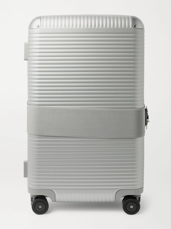 FPM MILANO + Marc Sadler Bank 73cm Leather-Trimmed Polycarbonate Suitcase
