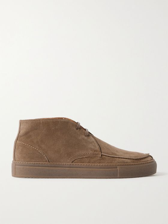 MR P. Split-Toe Suede Chukka Sneakers