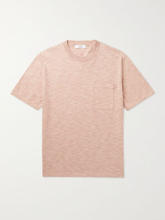 MR P. Space-Dyed Cotton T-Shirt