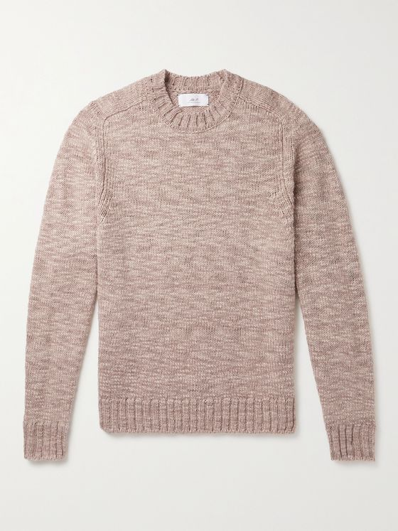 MR P. Mélange Wool Sweater
