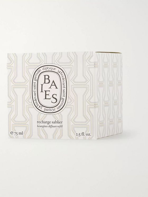 Diptyque Baies Hourglass Diffuser Refill, 75ml