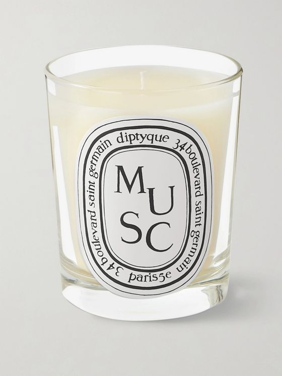 Diptyque Musc Scented Candle, 190g