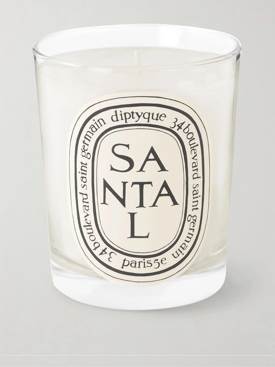 Diptyque Santal Scented Candle, 190g