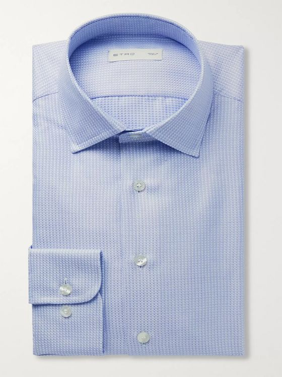 ETRO Cotton-Jacquard Shirt