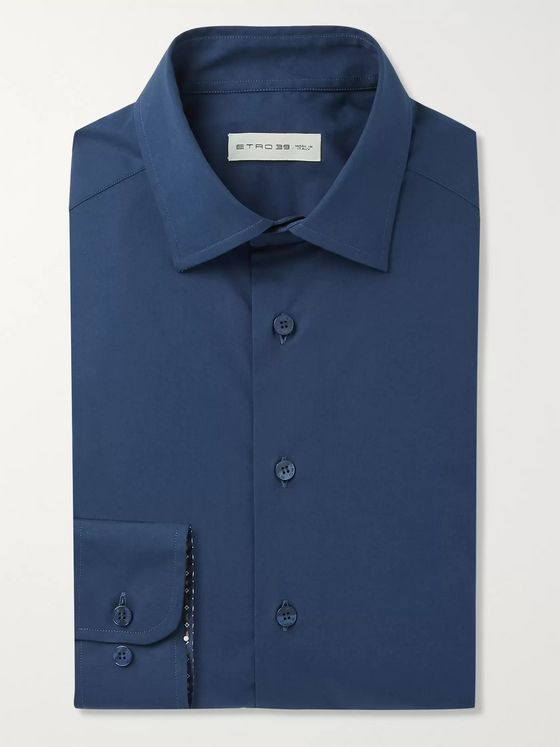 Etro Cotton-Poplin Shirt