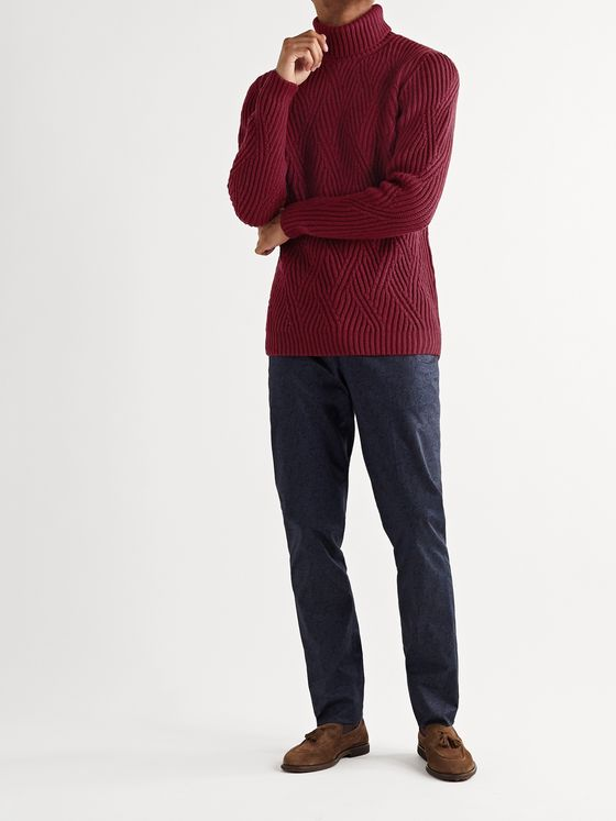 Etro Wool Rollneck Sweater