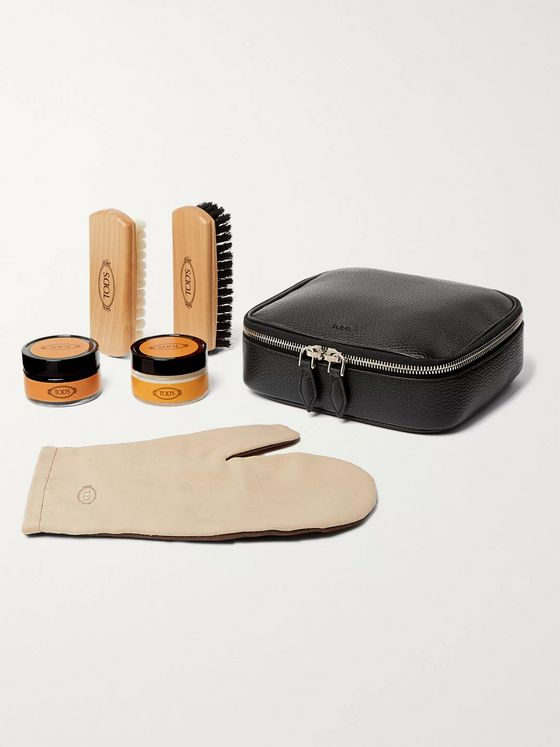 Tod's Full-Grain Leather Shoe Care Kit