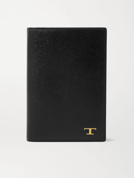 Tod's Textured-Leather Passport Holder