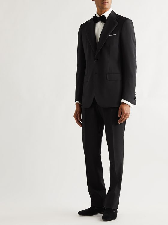 Brioni Slim-Fit Grosgrain-Trimmed Virgin Wool Tuxedo Jacket