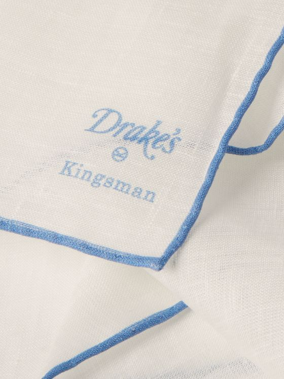 Kingsman + Drake's Linen Pocket Square