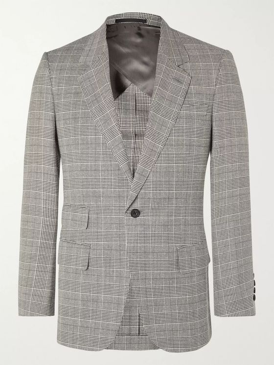 Kingsman Arthur Harrison Prince of Wales Checked Suit Jacket