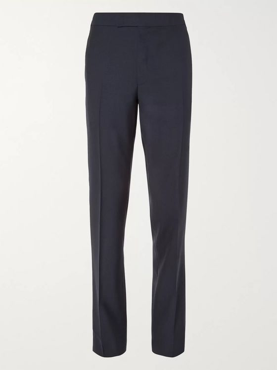 Kingsman Arthur Harrison Slim-Fit Wool Suit Trousers