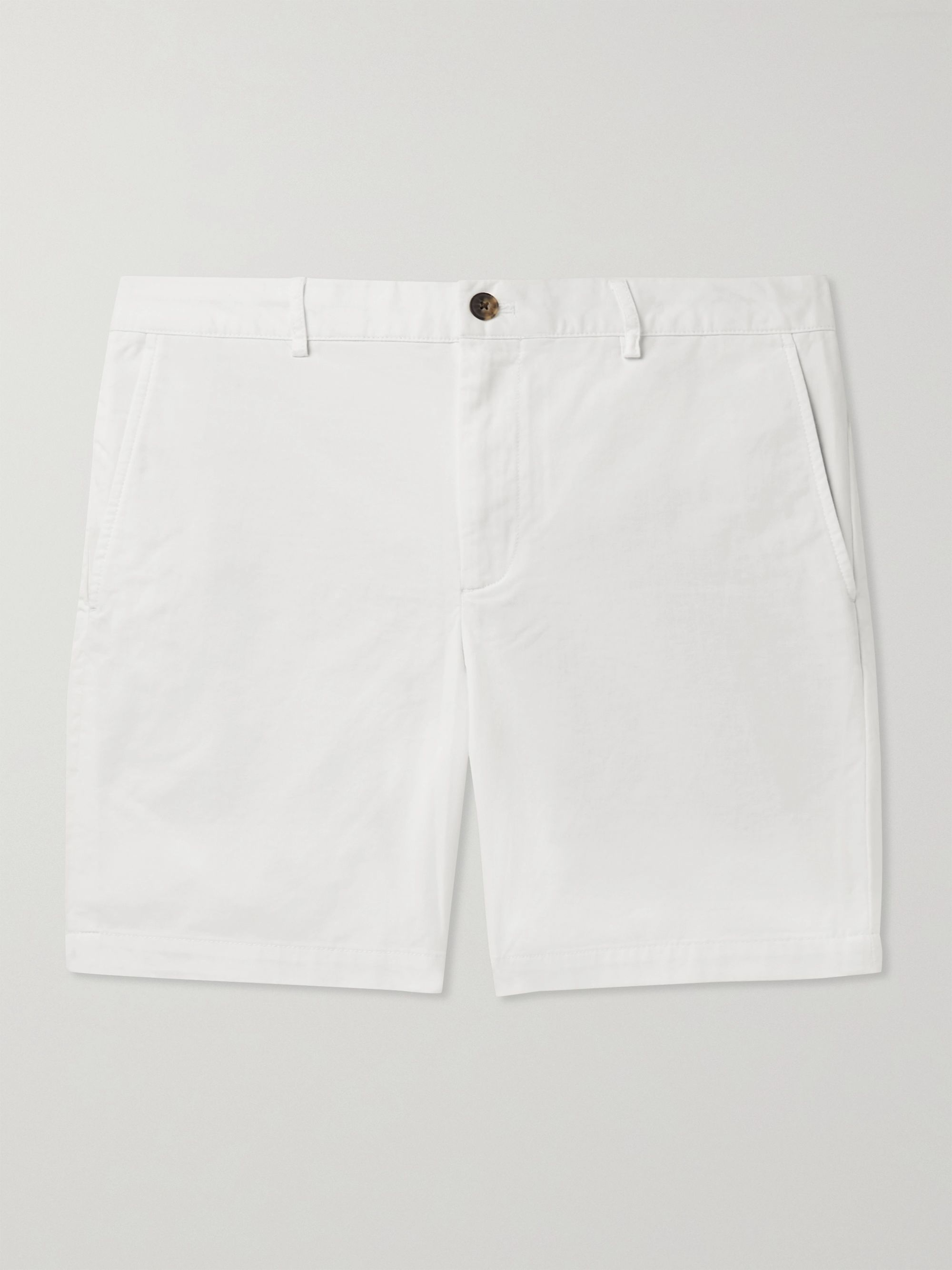 CLUB MONACO Baxter Slim-Fit Stretch-Cotton Twill Shorts