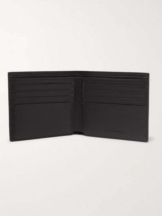Ermenegildo Zegna Full-Grain Leather Billfold Wallet