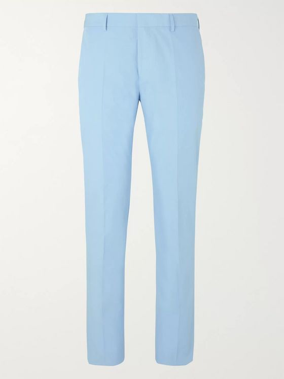 Hugo Boss Ben Slim-Fit Cotton Suit Trousers