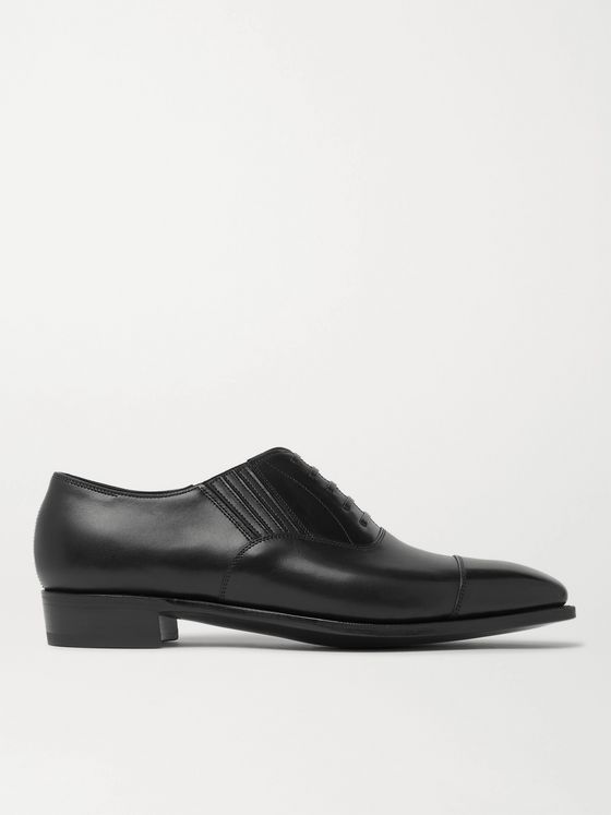 George Cleverley Bodie II Leather Oxford Shoes