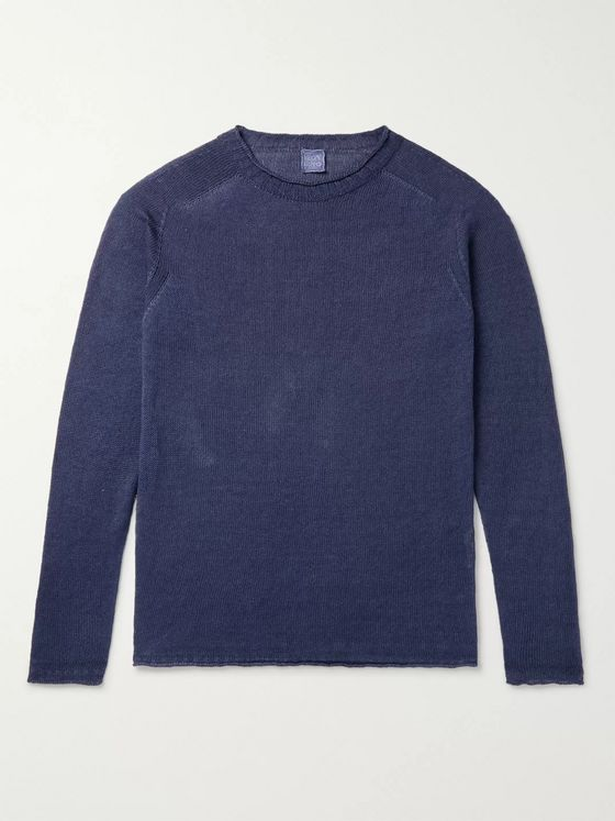 120% Linen, Cotton and Lyocell-Blend Sweater