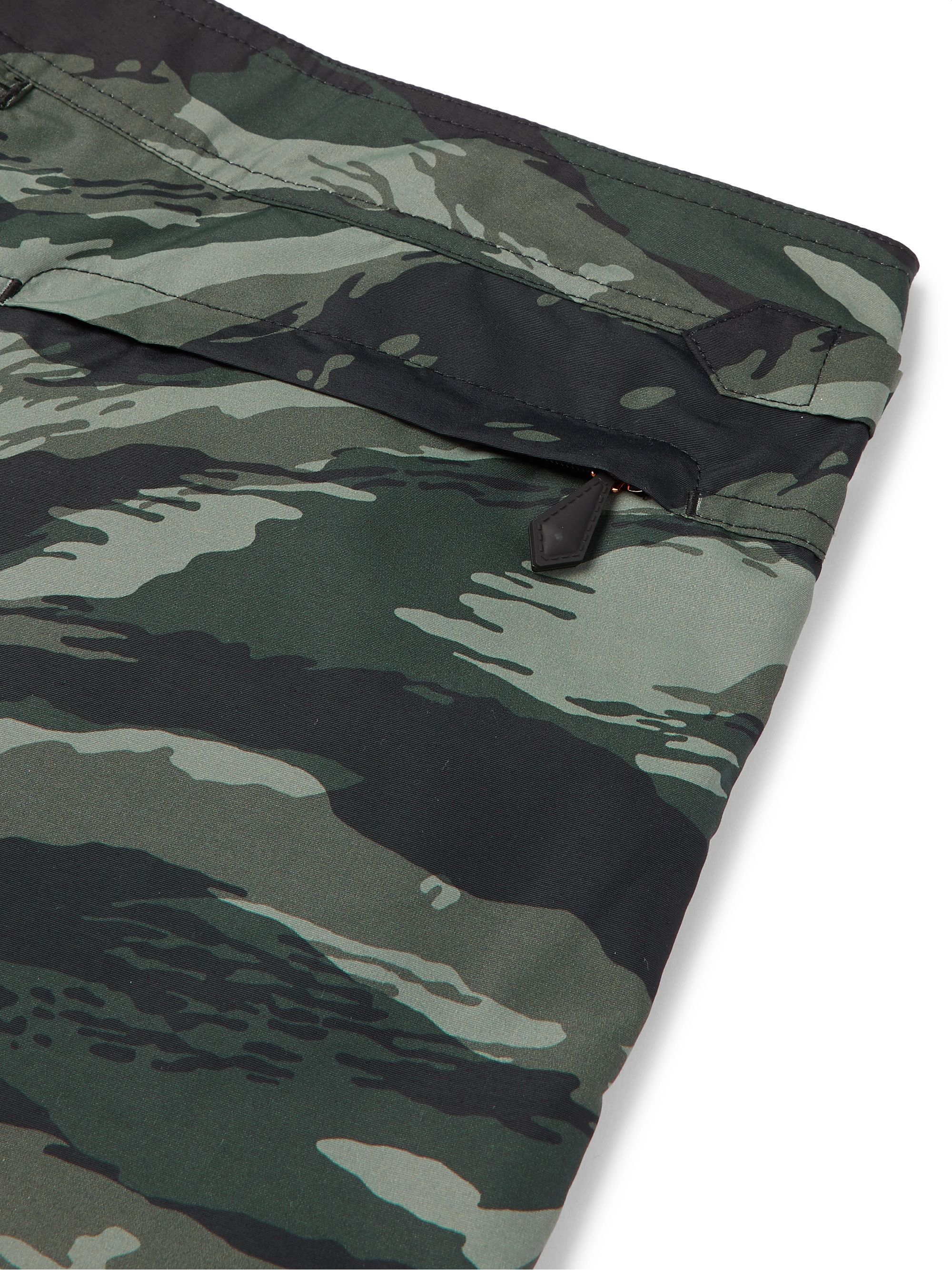 Details about  /Tom Ford Camouflage Blouson Homme 48 Khaki Viscosa  Camouflage