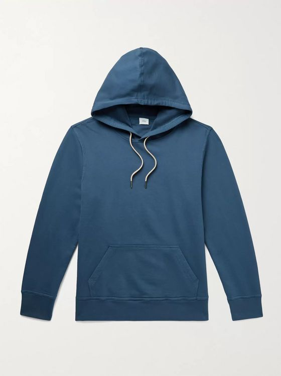 Onia Nico Loopback Cotton-Jersey Hoodie
