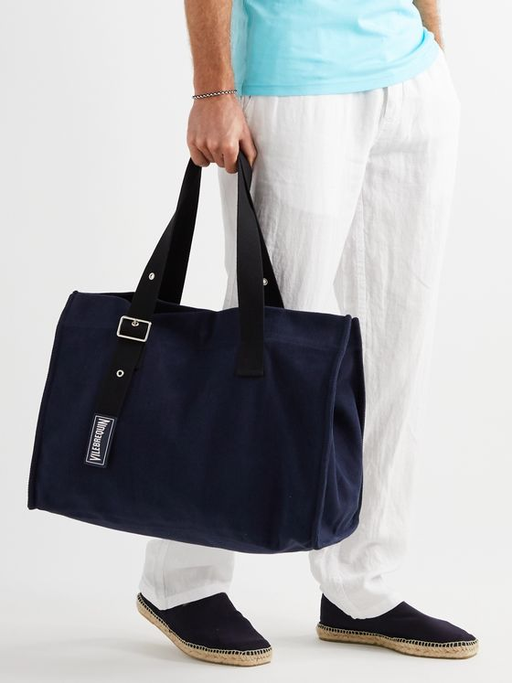 Vilebrequin Cotton-Canvas Holdall