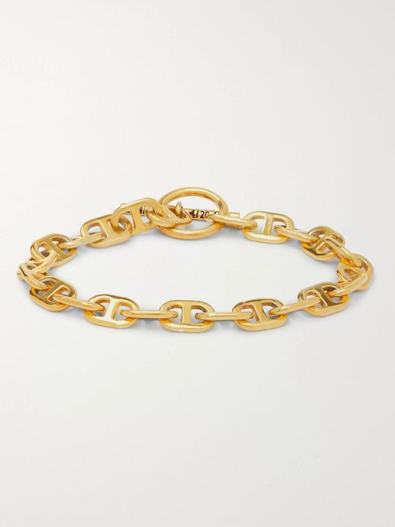 MAPLE Gold-Plated Chain Bracelet