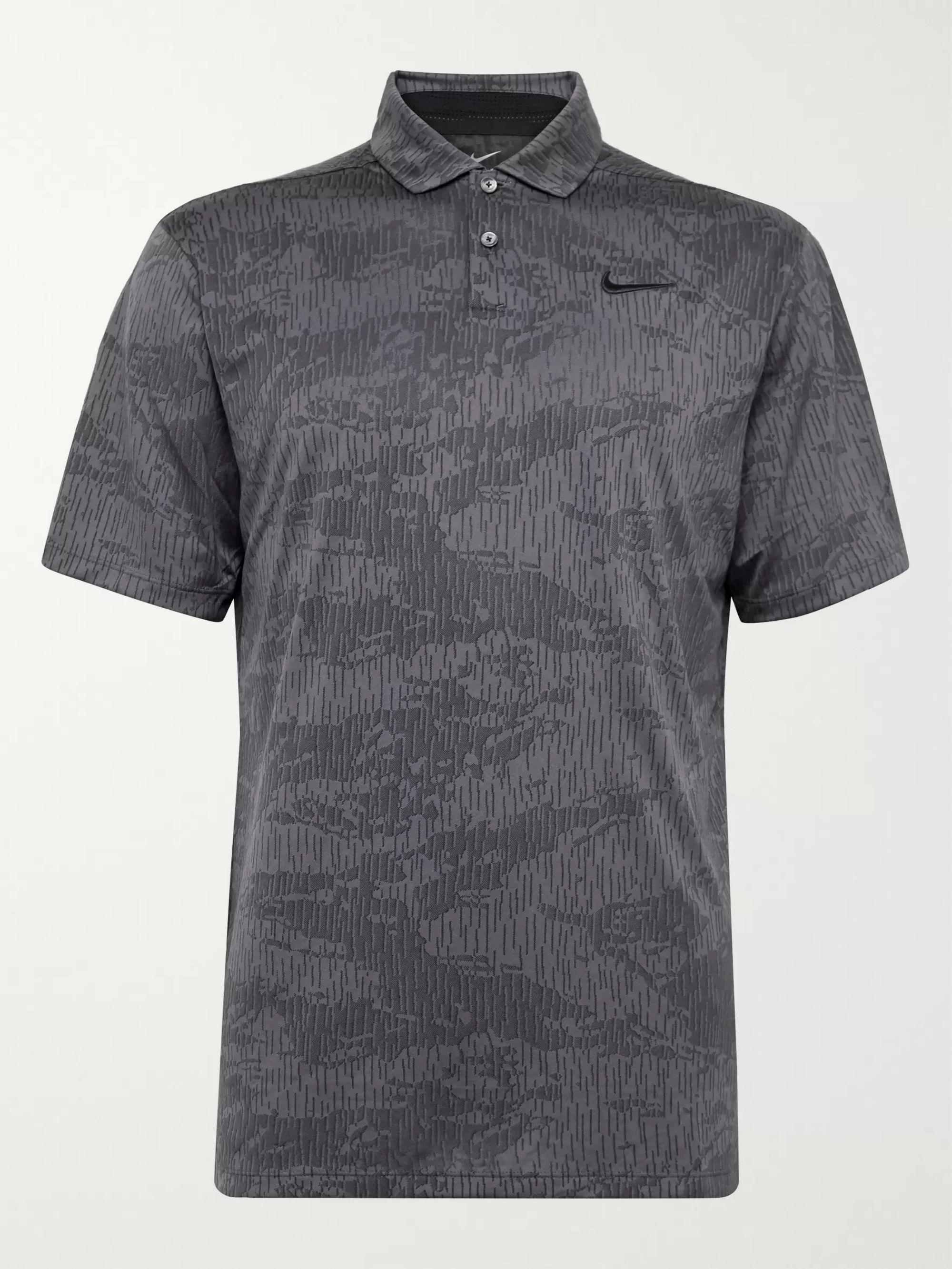 Nike Golf Vapor Camouflage-Jacquard Dri-FIT Polo Shirt
