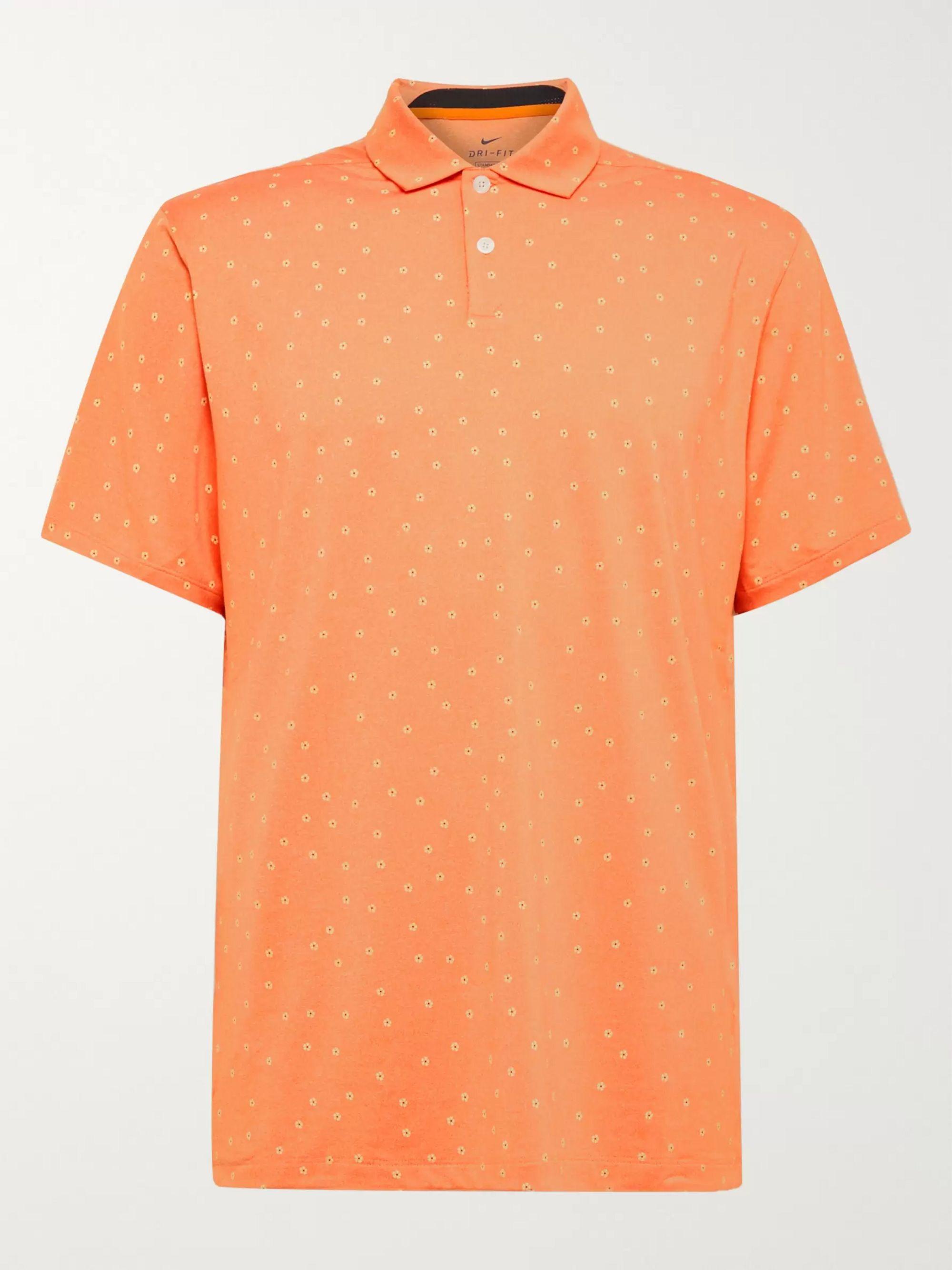 Nike Golf Vapor Printed Dri-FIT Polo Shirt
