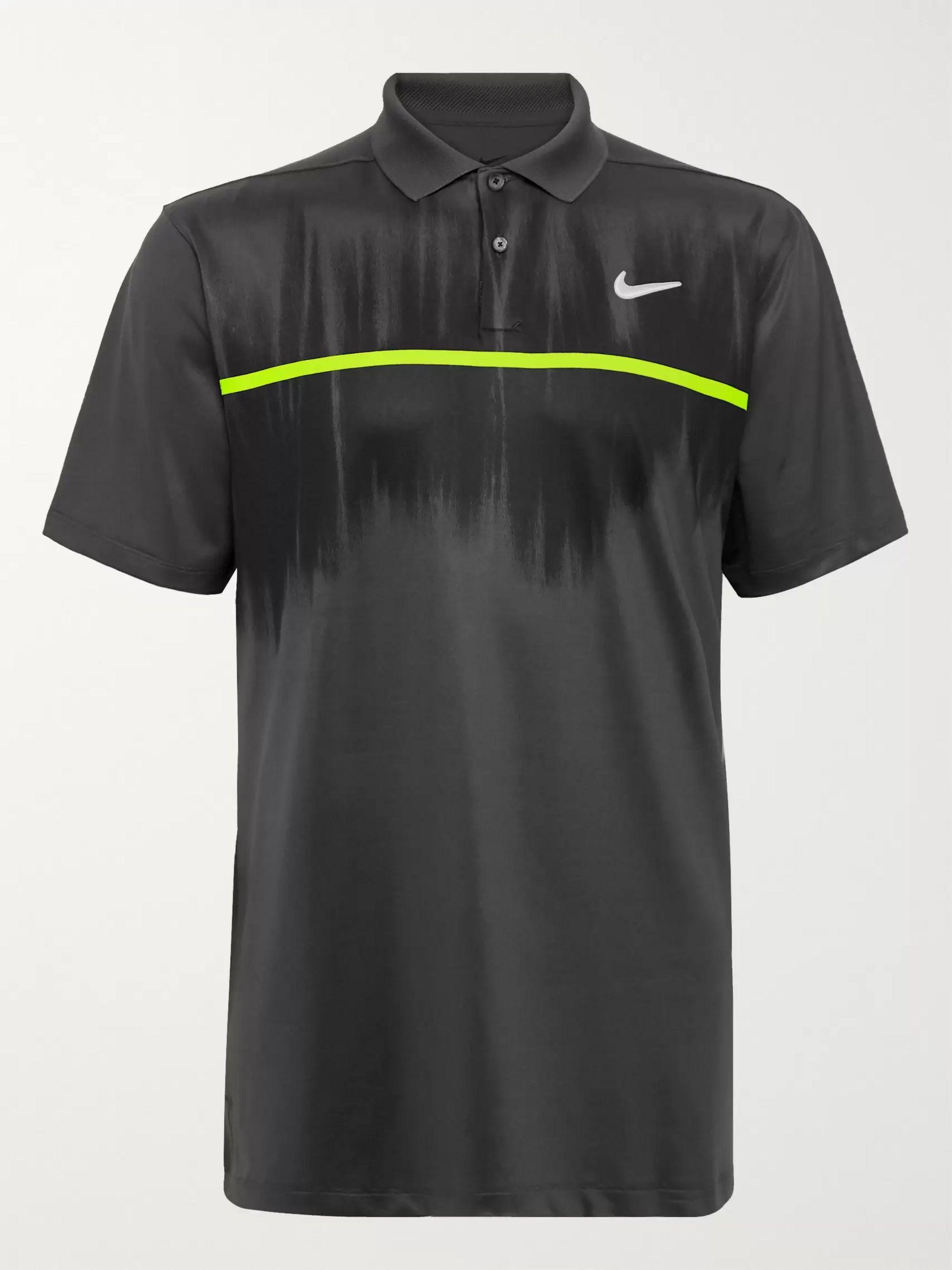 Nike Golf Vapor Printed Dri-FIT Golf Polo Shirt