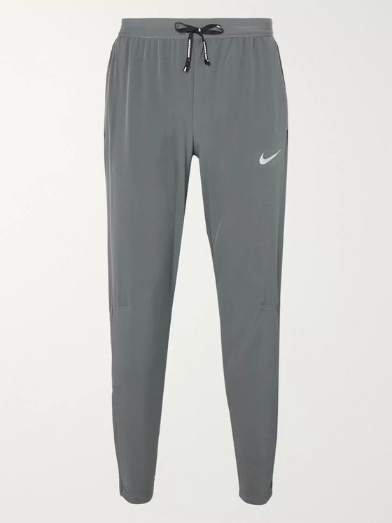 Nike Running Phenom Elite Slim-Fit Tapered Stretch-Shell Sweatpants