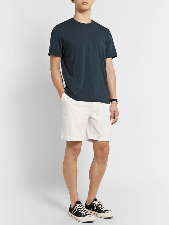 James Perse Lotus Slim-Fit Cotton-Jersey T-Shirt