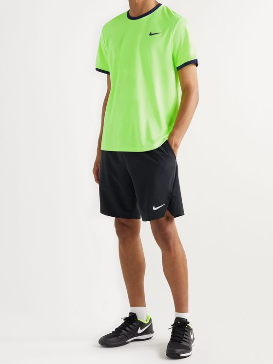 Nike Tennis Two-Tone NikeCourt Dri-FIT Tennis T-Shirt