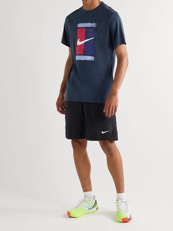 Nike Tennis Logo-Print Cotton-Jersey T-Shirt